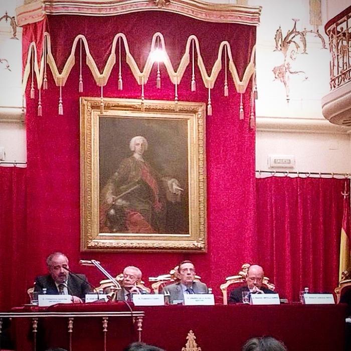Acto en la Real Academia de Jurisprudencia y Legislación