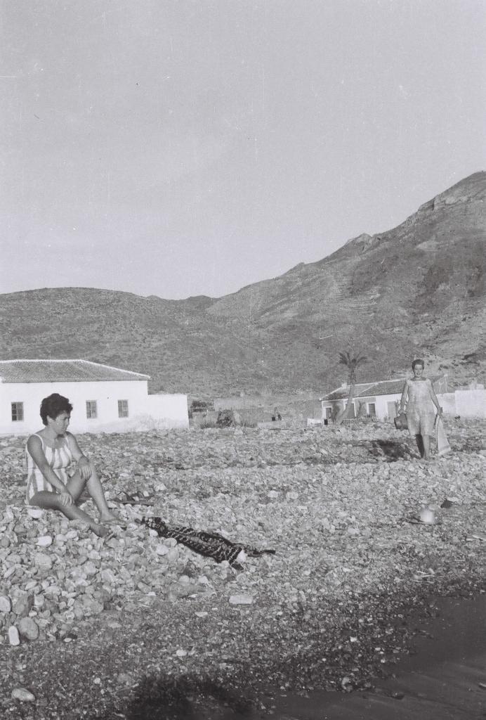 Playa de La Azohía, años '60
