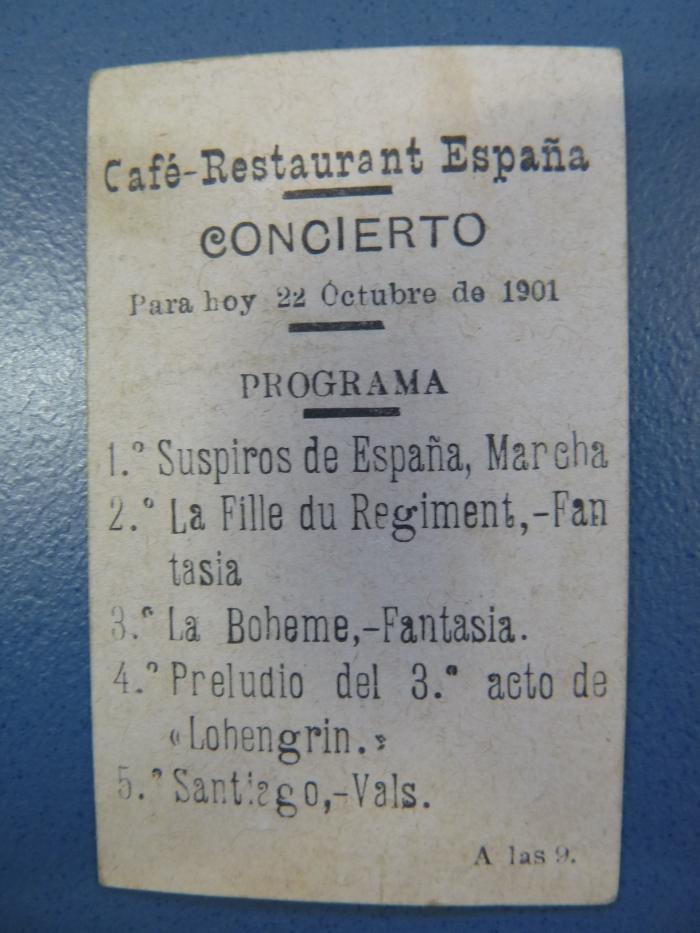 Suspiros de España en Cafe España (1)